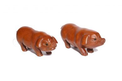 Pair of Pigs (Love and Happiness) £28 for a set