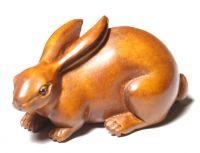 Sitting hare (3cmx5cm)