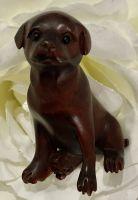 Netsuke dog